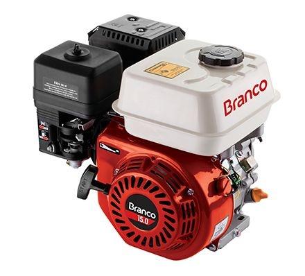 Motor Branco B4T-15.0H gasolina monocilíndrico