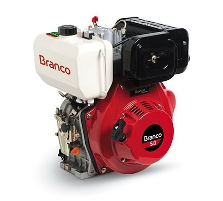 Motor Branco BD-5.0 acionado a diesel ou biodiesel