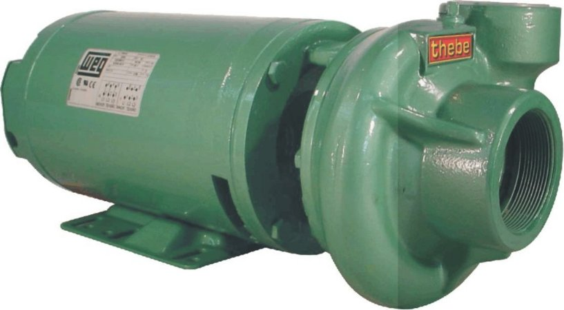 Bomba Monoestágio Thebe THB-13 1 CV trifásica 220V/380V