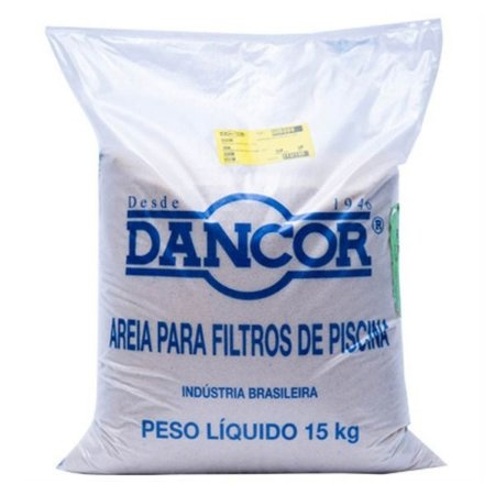 Areia Dancor Para Filtro de Piscina 15kg