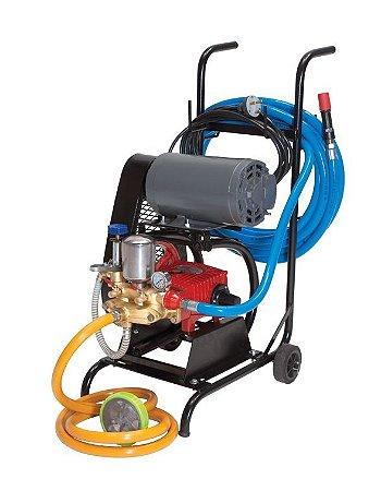 Lavadora de Alta Pressão 360LBS Trifásica com Carrinho PRESSURE-PSLAV400BN