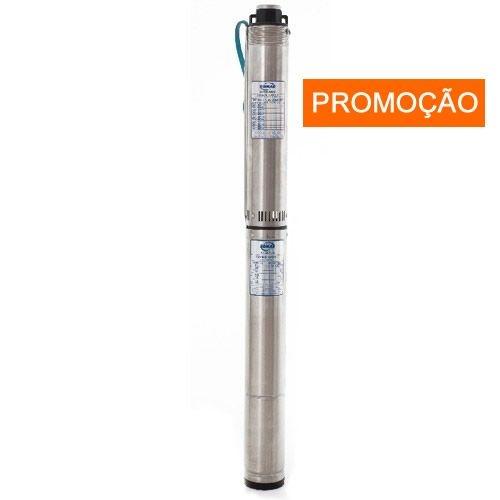 Bomba Submersa p/ Poço Somar 0,75CV 1.1/4 polegadas monofásica-BMSC-404/09-230V