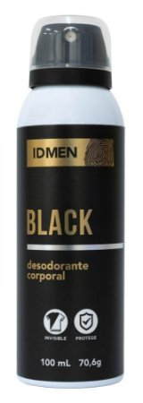 DESODORANTE ID MEN BLACK AEROSSOL 100mL