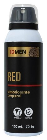 DESODORANTE RED AEROSSOL 100mL