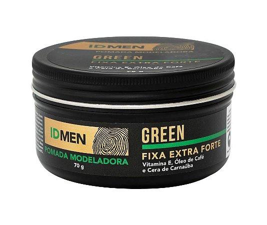 POMADA FIXA EXTRA FORTE GREEN 70g