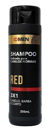 SHAMPOO 3X1 RED CABELOS NORMAIS 250mL