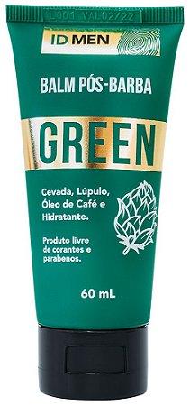 BALM PÓS-BARBA GREEN 60mL