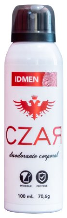 DESODORANTE CZAR RED AEROSSOL 100mL