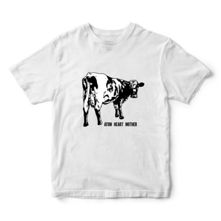 Camiseta Pink Floyd - Album Atom Heart Mother - Vaca - Música