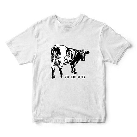 Camiseta Pink Floyd - Album Atom Heart Mother - Vaca - Música