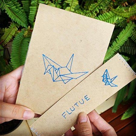 Kit Flutua | Caderno A6 + Marcador de Página