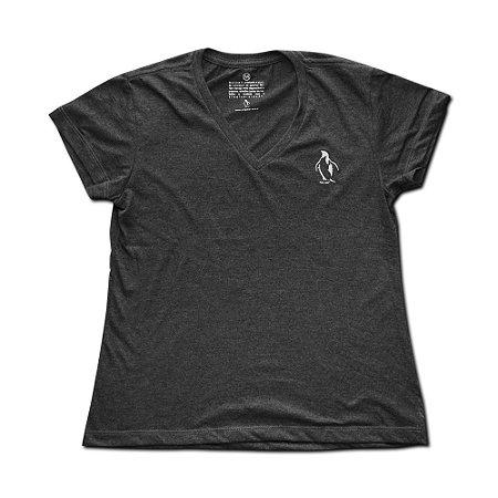 Camiseta Ecológica Pingreen Bordada (gola v)