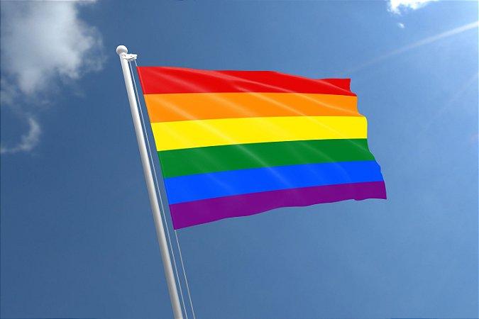 Bandeira LGBTQIA+ Arco-Íris