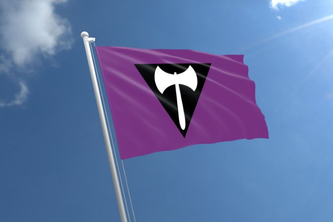 Bandeira Labrys