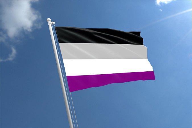 Bandeira Assexual