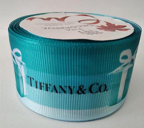 Fita de Gorgurão Grife Tiffany 10588