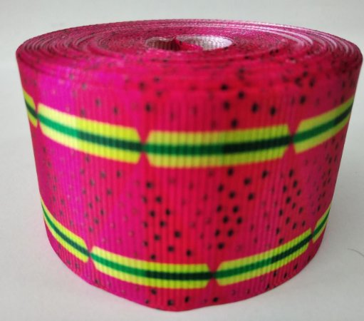 Fita de Gorgurão Melancia Pink 1462