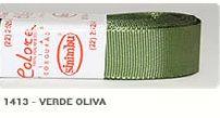 Fita de Gorgurão Lisa 1413 Verde Oliva