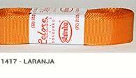 Fita de Gorgurão Lisa 1417 Laranja