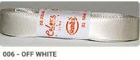 Fita de Cetim Lisa 006 Off White