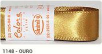 Fita de Cetim Lisa 1148 Ouro