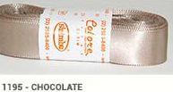 Fita de Cetim Lisa 1195 Chocolate