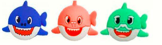 Aplique Emborrachado Baby Shark