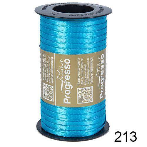 Fita de Cetim Lisa n°1 Azul Turquesa 213