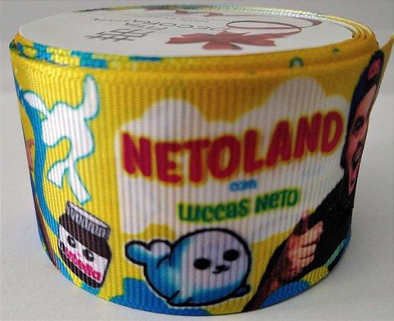 Fita de Gorgurão  Luccas Neto 0227
