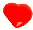 Botão Infantil Coração