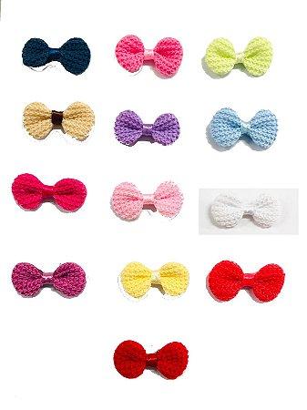 Lacinhos de Crochê - Pacote com 5 unidades