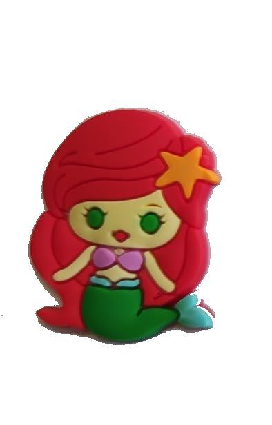Aplique Emborrachado Sereia Ariel
