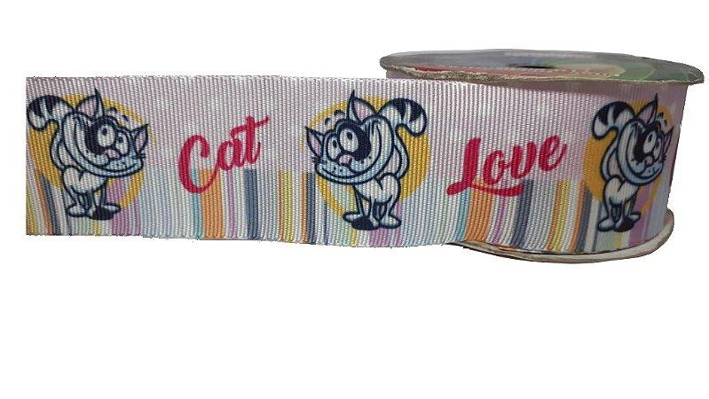 Fita de Gorgurão Cat Love 110