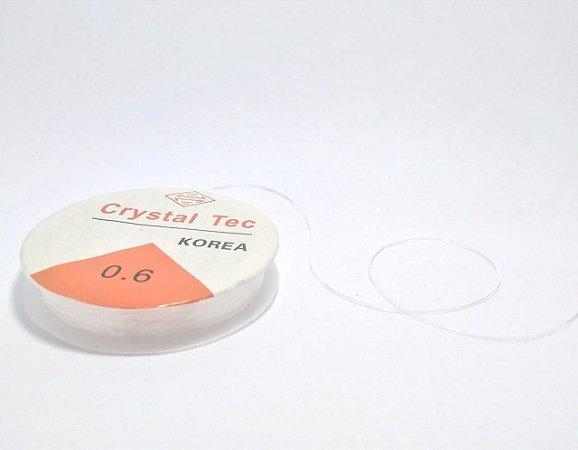 Fio de Silicone Transparente 0,6 mm