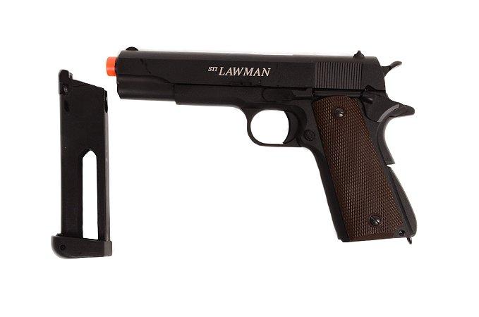 Pistola de Airsfot CO₂ - 1911 STI Lawman - Blowback