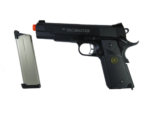 Pistola de Airsfot GBB - 1911 STI TAC Master - Blowback