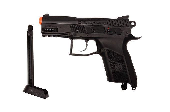 Pistola de Airsoft CO₂ - CZ 75 P-07 Duty