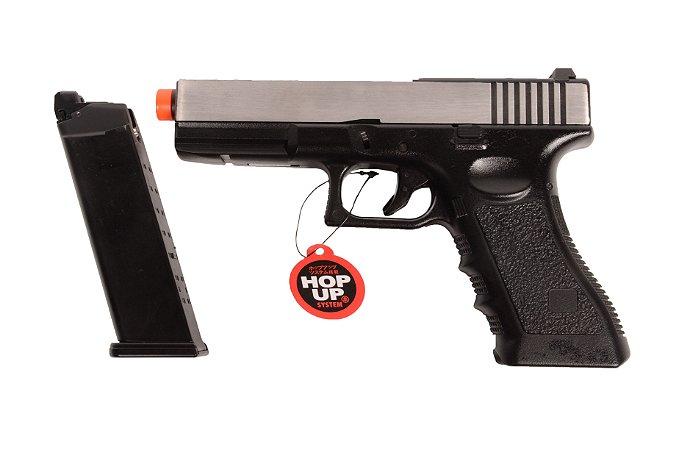 Pistola de Airsoft GBB - Glock 721L - Blowback ACOMPANHA CASE EXCLUSIVO!