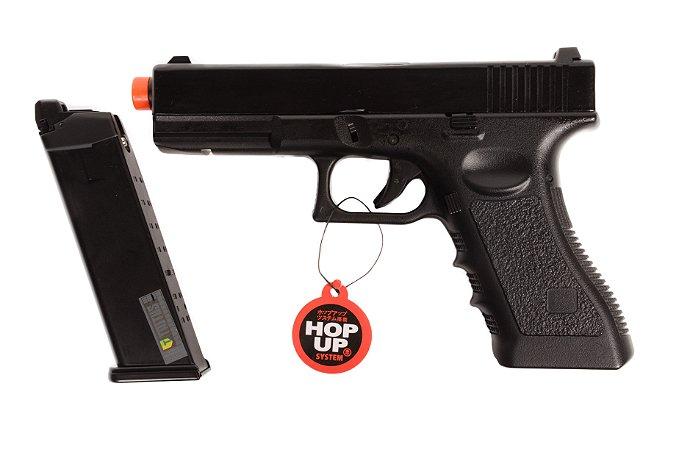 Pistola de Airsoft GBB - Glock 766 - Blowback ACOMPANHA CASE EXCLUSIVO!