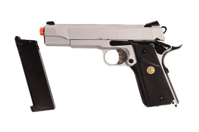 Pistola de Airsoft GBB - 1911 728Y - Full Metal - Blowback