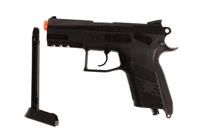 Pistola de Esfera de Aço CO₂ - CZ 75 P-07 Duty - Blowback - 4.5mm