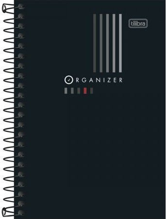 Caderno Organizer - 80 folhas c/espiral - 20cm x 27,5cm - Tilibra