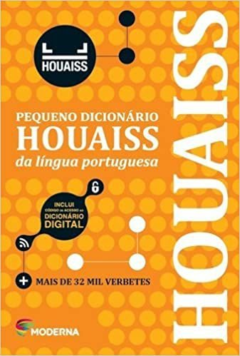 Pequeno Dicionário HOUAISS da Língua Portuguesa - Editora Moderna