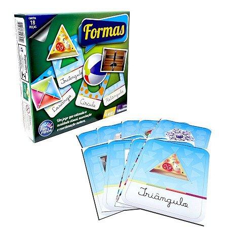 Formas - 18 peças - Pais & Filhos