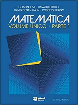 MATEMATICA VOL: UNICO - 6°EDICAO 2015