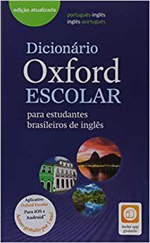Dicionário de Inglês Oxford Escolar - Editora Oxford