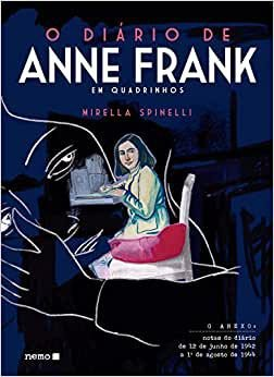 Diário de Anne Frank - em quadrinhos - Editora Nemo