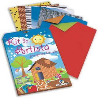 Kit do artista - 30 folhas + livro de atividades - Romitec