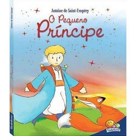 O Pequeno Príncipe - infantojuvenil - capa almofadada - Editora Todolivro