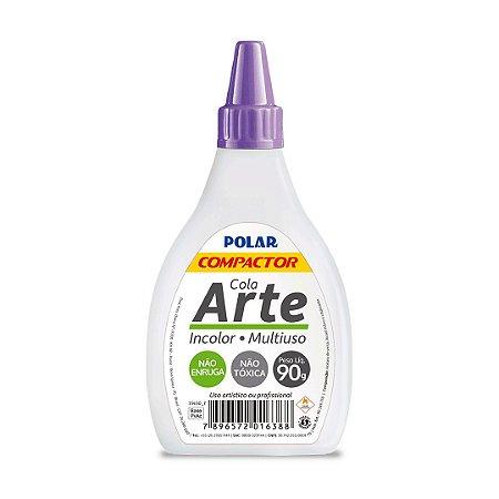Cola Arte Multiuso - incolor - 90g - atóxica - Compactor
